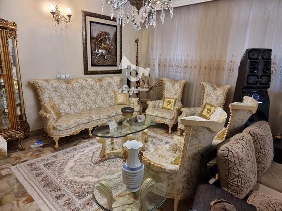 مبلمان استیل با نهار خوری و مبل راحتی در گروه خرید و فروش لوازم خانگی در تهران در شیپور-عکس8
