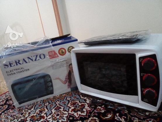 توستر نو استفاده نشده..دارای جوجه گردون در گروه خرید و فروش لوازم خانگی در مازندران در شیپور-عکس1