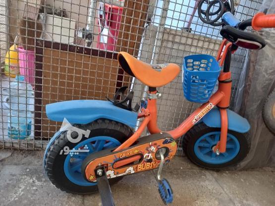 دوچرخه سایز 12 در گروه خرید و فروش ورزش فرهنگ فراغت در تهران در شیپور-عکس2