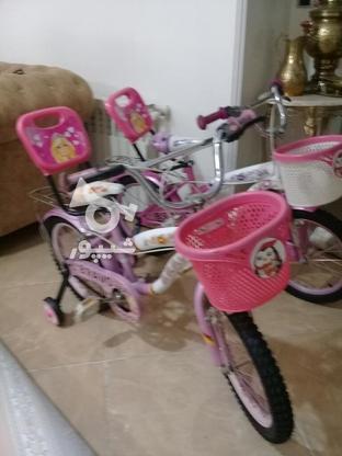 دوچرخه سایز 16 ودخترانه مشابه نو مناسب هدیه در گروه خرید و فروش ورزش فرهنگ فراغت در تهران در شیپور-عکس7