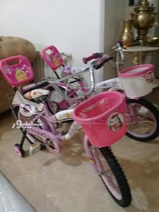 دوچرخه سایز 16 ودخترانه مشابه نو مناسب هدیه در گروه خرید و فروش ورزش فرهنگ فراغت در تهران در شیپور-عکس1