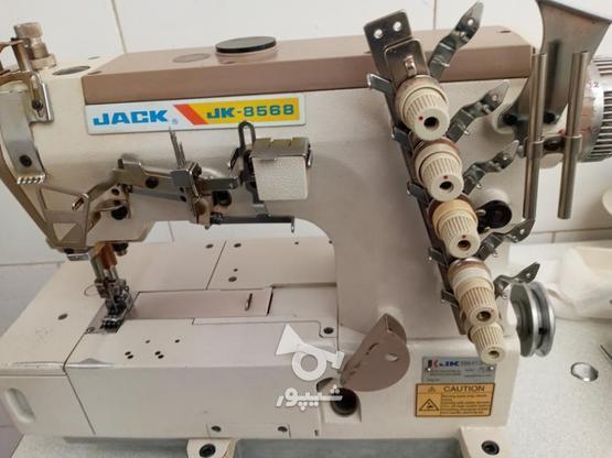 چرخ خیاطی میاندوز جک تمییز و مرتب در گروه خرید و فروش صنعتی، اداری و تجاری در اصفهان در شیپور-عکس1