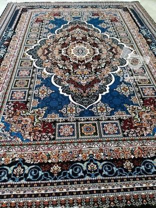 فرش دربار کاشان، آرتین سورمه ایی 9متری، طرح 700 شانه در گروه خرید و فروش لوازم خانگی در مازندران در شیپور-عکس2