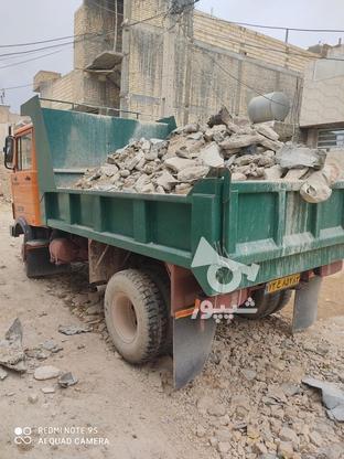 حمل نخاله ماسه شسته گل مخلوط با خاور در گروه خرید و فروش خدمات و کسب و کار در فارس در شیپور-عکس1