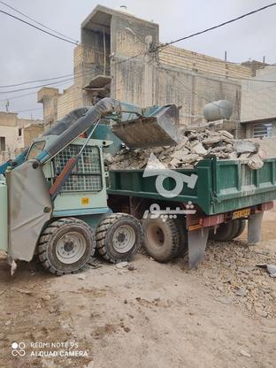 حمل نخاله ماسه شسته گل مخلوط با خاور در گروه خرید و فروش خدمات و کسب و کار در فارس در شیپور-عکس2