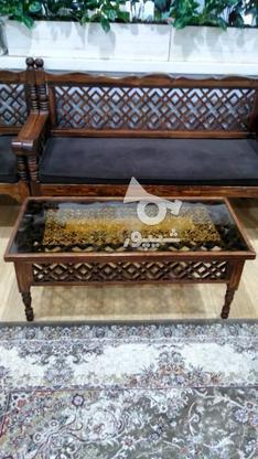 مبل سنتی گره چینی بسیار تمیز در حد نو در گروه خرید و فروش لوازم خانگی در تهران در شیپور-عکس5