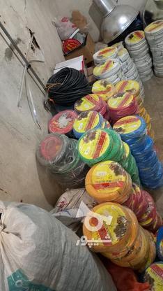 انواع  سیم کابل افشان،خشک در گروه خرید و فروش خدمات و کسب و کار در اردبیل در شیپور-عکس5
