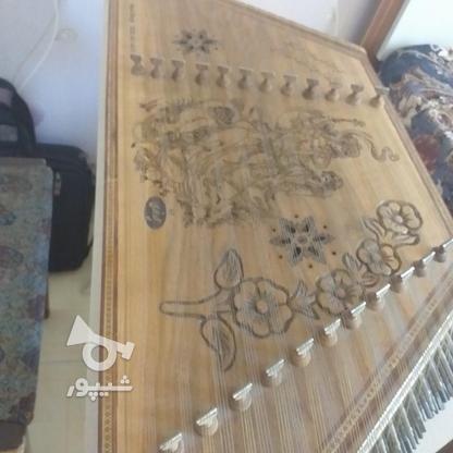 سنتور 12 خرک سفارشی منبت کاری شده در گروه خرید و فروش ورزش فرهنگ فراغت در البرز در شیپور-عکس1