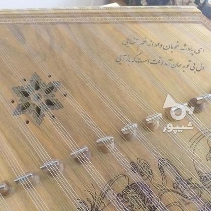 سنتور 12 خرک سفارشی منبت کاری شده در گروه خرید و فروش ورزش فرهنگ فراغت در البرز در شیپور-عکس4