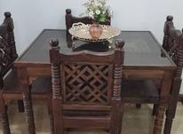 میز نهارخوری سنتی 4 نفره مدل گره چینی در شیپور-عکس کوچک