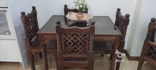 میز نهارخوری سنتی 4 نفره مدل گره چینی در گروه خرید و فروش لوازم خانگی در تهران در شیپور-عکس1