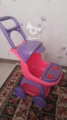 کالسکه اسباب بازی کودک در گروه خرید و فروش ورزش فرهنگ فراغت در تهران در شیپور-عکس1