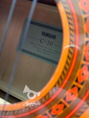 گیتار یاماها c70 ساخت اندونزی در گروه خرید و فروش ورزش فرهنگ فراغت در خراسان رضوی در شیپور-عکس3