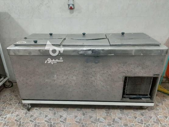فریزر صندوقی استیل در گروه خرید و فروش صنعتی، اداری و تجاری در اصفهان در شیپور-عکس4