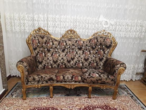 مبلم سلطنتی با چوب نراد در گروه خرید و فروش لوازم خانگی در مازندران در شیپور-عکس4