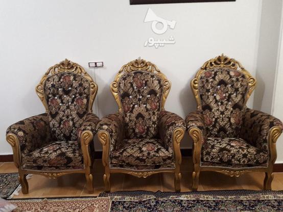 مبلم سلطنتی با چوب نراد در گروه خرید و فروش لوازم خانگی در مازندران در شیپور-عکس3