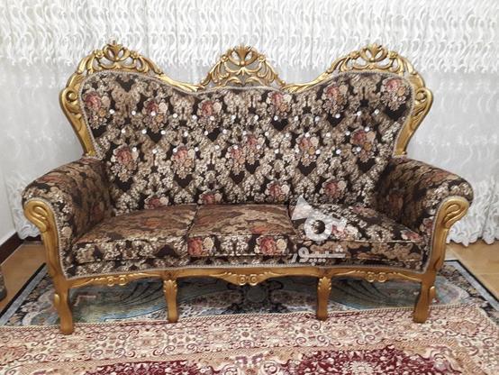 مبلم سلطنتی با چوب نراد در گروه خرید و فروش لوازم خانگی در مازندران در شیپور-عکس2