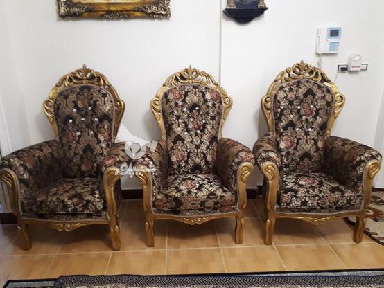 مبلم سلطنتی با چوب نراد در گروه خرید و فروش لوازم خانگی در مازندران در شیپور-عکس1