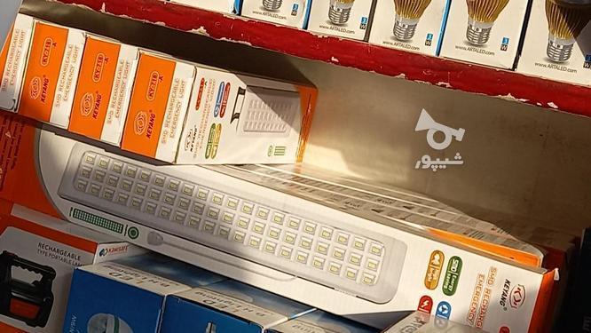 چراغ اضطراری شارژی در گروه خرید و فروش لوازم الکترونیکی در اردبیل در شیپور-عکس5
