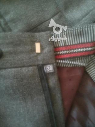 شلوار پارچه ای مردانه سایز 38 در گروه خرید و فروش لوازم شخصی در اصفهان در شیپور-عکس1