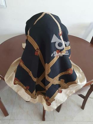 روسری مشکی قهوه ای در گروه خرید و فروش لوازم شخصی در تهران در شیپور-عکس2