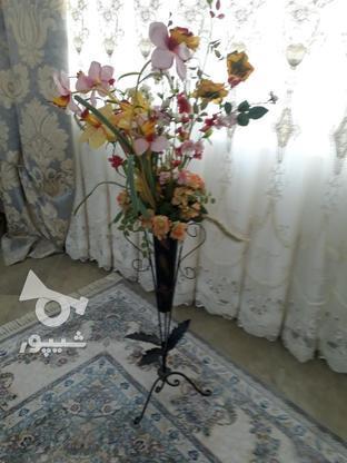 گل و گلدون فرفورژه در گروه خرید و فروش لوازم خانگی در مازندران در شیپور-عکس1