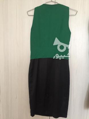 پیراهن کوتاه مهمانی سایز 38 در گروه خرید و فروش لوازم شخصی در خراسان رضوی در شیپور-عکس2
