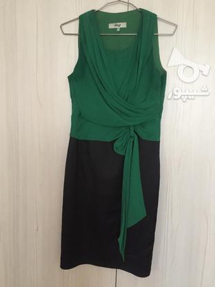 پیراهن کوتاه مهمانی سایز 38 در گروه خرید و فروش لوازم شخصی در خراسان رضوی در شیپور-عکس1