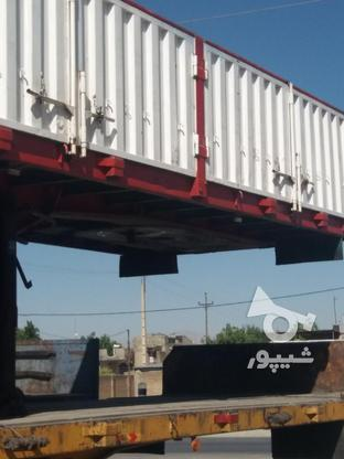 تریلی لبه دار ایران کاوه مدل 90 در حد نو در گروه خرید و فروش وسایل نقلیه در همدان در شیپور-عکس5