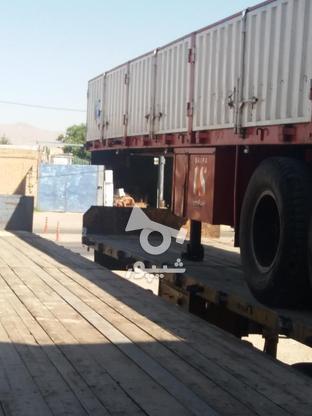 تریلی لبه دار ایران کاوه مدل 90 در حد نو در گروه خرید و فروش وسایل نقلیه در همدان در شیپور-عکس3