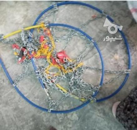 زنجیر چرخ ال نود در گروه خرید و فروش وسایل نقلیه در گلستان در شیپور-عکس1