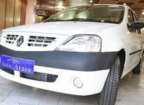 رنو ال90 مدل 1398 سفید در شیپور-عکس کوچک