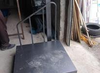 باسکول 500 کیلویی کفه 75*75 صنعتی در شیپور-عکس کوچک