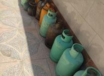 کپسول گاز . در شیپور-عکس کوچک