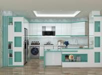 طراح داخلی، 3d mas، کابینت، دکوراسیون، سه بعدی، در شیپور-عکس کوچک