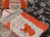 کیسه خواب کودک و ساک ست نارنجی در شیپور-عکس کوچک