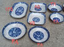 ظروف چینی مکزیکی و اوکراینی بازرگانی ترکمن در شیپور-عکس کوچک