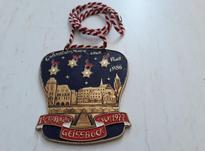 مدال گردن آویزهای اغلب اروپایی در شیپور-عکس کوچک