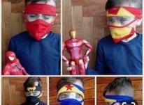 ماسک شیلددار کودک با طراحی کارتونی در شیپور-عکس کوچک