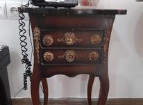 میز تلفن چوبی در شیپور-عکس کوچک