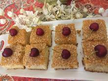 سفارش انواع کیک های خانگی و سالاد برای مهمانیها وغدا در شیپور