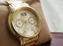 ساعت سوئیسی اصل مارک گوچی آب طلا رنگ ثابت در شیپور-عکس کوچک