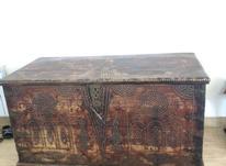 صندوق چوبی قدیمی در شیپور-عکس کوچک