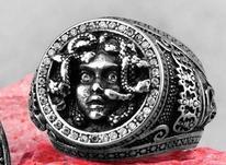 انگشتر دست ساز مدوسا در شیپور-عکس کوچک