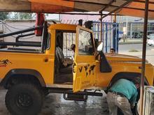 لندرور نیم تن مدارک کامل مدل73 زرد قناری در شیپور