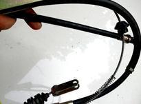 سیم ترمز دستی پراید کامل در شیپور-عکس کوچک