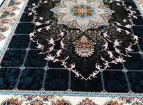 فرش دربار کاشان، هیوا 12متری، سرمه ایی، آبی، فیلی در شیپور-عکس کوچک