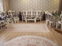 مبل کلاسیک (سلطنتی) 8 نفری با میز نهارخوری 8 نفری در شیپور