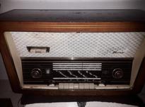 رادیو لامپی آلمانی سوپر بکر بزرگ در شیپور-عکس کوچک
