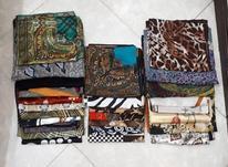27 عدد روسری ساتن و نخی قواره 90 در شیپور-عکس کوچک